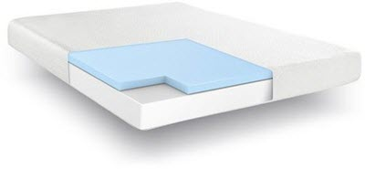 Hampton and Rhodes memory foam mattress